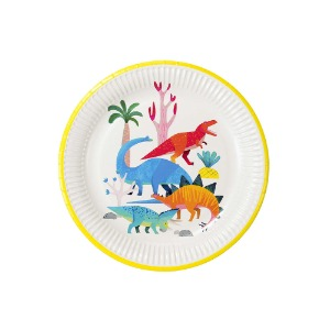 [Talking Tables] Dino Party Plates(8pcs)