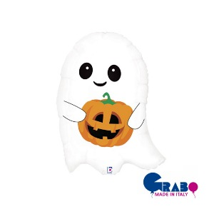 "[Grabo balloons] Cute ghost 26""(66cm)"